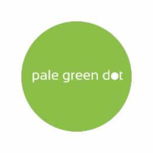 Pale Green Dot logo image