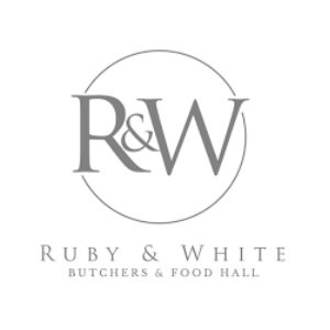 Ruby & White logo image