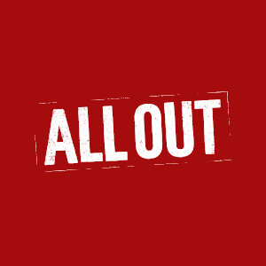 All Out Burgers logo image