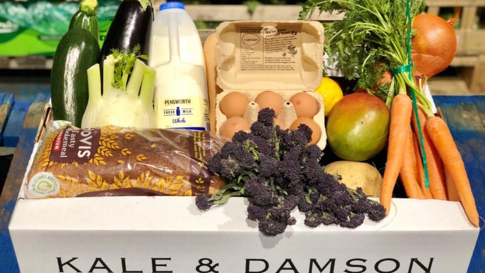 Kale and Damson cover image