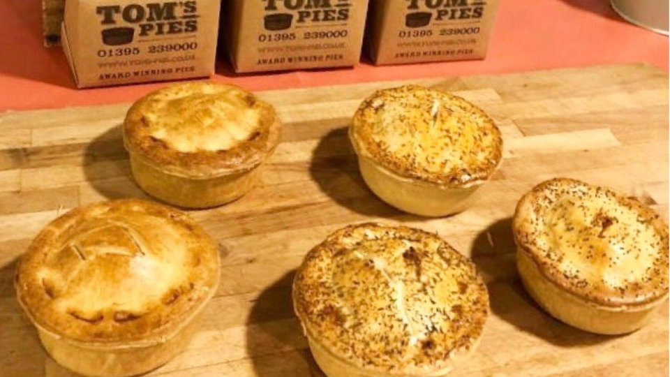 Tom's Pies cover image