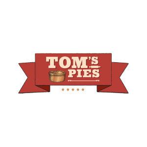 Tom's Pies logo image