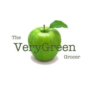 The VeryGreen Grocer logo image