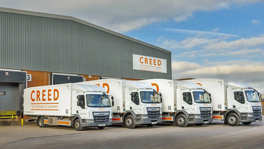 Creed Food Services cover image