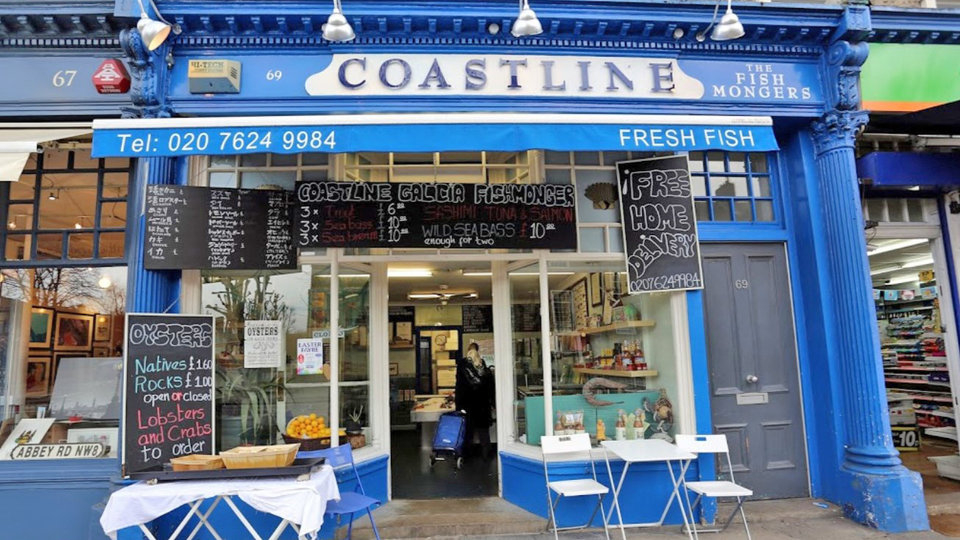 Coastline Galicia cover image