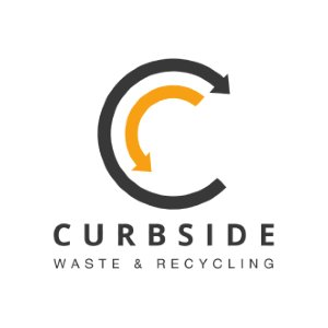 Curbside Recycling logo image