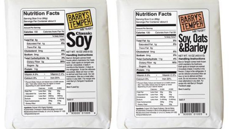 Barry's Tempeh cover image