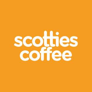 Scotties Coffee logo image