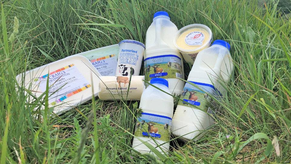 Craigs Farm Dairy cover image