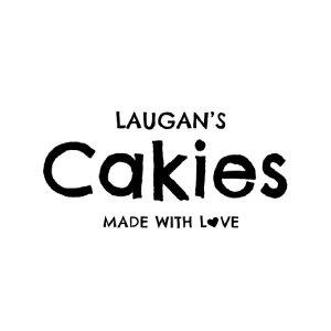 Laugan's Cakies logo image