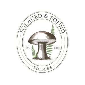 Foraged and Found logo image