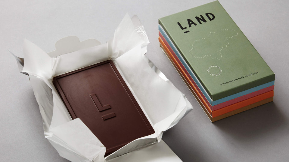 Land Chocolate cover image