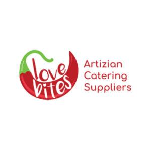 Love Bites Artizian Catering logo image