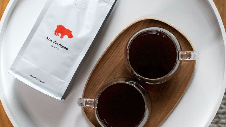 Kiss the Hippo Coffee cover image