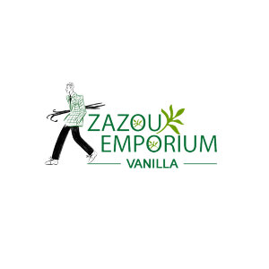 Zazou Emporium Vanilla logo image