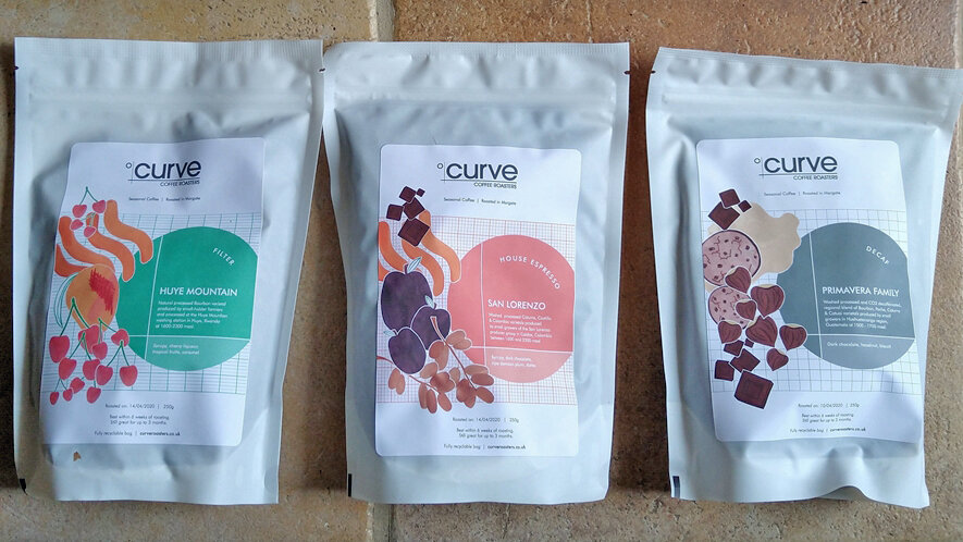 Curve Coffee Roasters cover image
